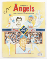 Gene Mauch Signed 1985 Silver Anniversary Angels Yearbook (Beckett COA) at PristineAuction.com