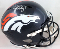 John Elway Signed Broncos Full-Size Authentic On-Field Speed Helmet (Beckett Hologram) at PristineAuction.com