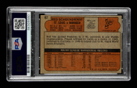 Red Schoendienst Signed 1972 Topps #67 MG (PSA Encapsulated) at PristineAuction.com
