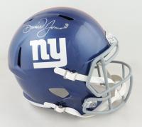 Daniel Jones Signed Giants Full-Size Speed Helmet (JSA COA) at PristineAuction.com