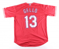 Joey Gallo Signed Rangers Jersey (PSA Hologram) at PristineAuction.com
