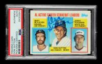 Don Sutton Signed 1984 Topps #716 AL Active Strikeout / Don Sutton / Bert Blyleven / Jerry Koosman (PSA Encapsulated) at PristineAuction.com