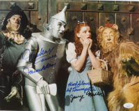 """Mickey Carroll, Jerry Maren & Karl Slover Signed """"The Wizard of Oz"""" 11x14 Photo with Character Inscriptions (JSA COA) at PristineAuction.com"""