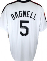 Jeff Bagwell Signed Astros Jersey (Beckett Hologram) at PristineAuction.com