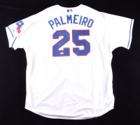 Rafael Palmeiro Signed Rangers Jersey (JSA Hologram) (See Descriptipon) at PristineAuction.com