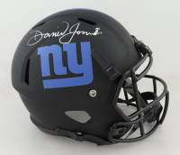 Daniel Jones Signed Giants Full-Size Eclipse Alternate Speed Helmet (JSA COA) (See Description) at PristineAuction.com