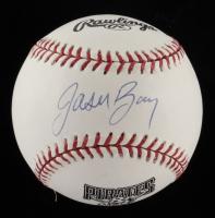 Jason bay Signed Pirates Logo Baseball (Beckett COA) at PristineAuction.com