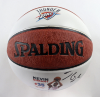 Kevin Durant Signed LE Thunder Logo Basketball (Panini COA) at PristineAuction.com