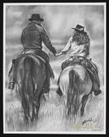 """Cowboy Love"" 11x14.5 LE Lithograph (PA LOA) at PristineAuction.com"