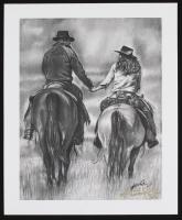 """Cowboy Love"" 13.25x16 LE Lithograph (PA LOA) at PristineAuction.com"