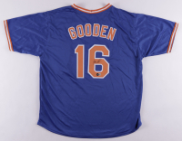 """Dwight """"Doc"""" Gooden Signed Jersey (Beckett Hologram) at PristineAuction.com"""