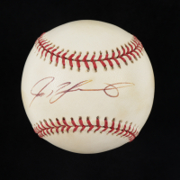 Ivan Rodriguez Signed OML Baseball (Beckett COA) at PristineAuction.com