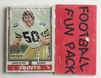 1974 Topps Football Card Fun Pack with (10) Cards at PristineAuction.com