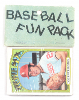 1972 Topps Baseball Card Fun Pack with (10) Cards at PristineAuction.com