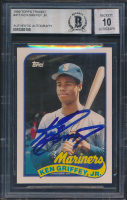 Ken Griffey Jr. 1989 Topps Traded #41T RC (BGS Encapsulated) at PristineAuction.com