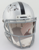 Clelin Ferrell Signed Raiders Full-Size Authentic On-Field Speed Helmet (Beckett COA) at PristineAuction.com