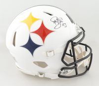 Troy Polamalu Signed Steelers Full-Size Authentic On-Field AMP Alternate Speed Helmet (Beckett COA) at PristineAuction.com