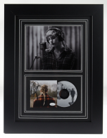 """Taylor Swift Signed 17x22 Custom Framed """"Evermore"""" Album Photo Display (JSA COA) at PristineAuction.com"""