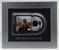 """Taylor Swift Signed 14x17 Custom Framed """"Evermore"""" Album Photo Display (JSA COA) at PristineAuction.com"""