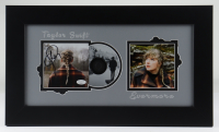 """Taylor Swift Signed 12x21 Custom Framed """"Evermore"""" Album Photo Display (JSA COA) at PristineAuction.com"""