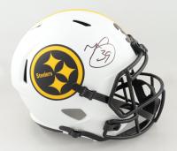 Minkah Fitzpatrick Signed Steelers Full-Size Lunar Eclipse Alternate Speed Helmet (Beckett Hologram) at PristineAuction.com
