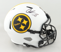 Chase Claypool Signed Steelers Full-Size Lunar Eclipse Alternate Speed Helmet (Beckett Hologram) at PristineAuction.com