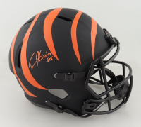 Tee Higgins Signed Bengals Full-Size Eclipse Alternate Speed Helmet (Beckett COA) at PristineAuction.com