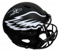 Jalen Hurts Signed Eagles Full-Size Eclipse Alternate Speed Helmet (PSA COA) at PristineAuction.com