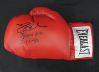 "James ""Buster"" Douglas Signed Everlast Boxing Glove Inscribed ""Tyson KO"" & ""2-11-90"" (JSA COA) at PristineAuction.com"