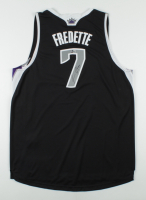Jimmer Fredette Signed Kings Jersey (Beckett COA) at PristineAuction.com