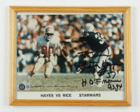 """Lester Hayes Signed Raiders 9x11 Custom Framed Photo Inscribed """"HOF Nominee 93, 94"""" (Beckett COA) at PristineAuction.com"""