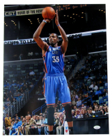 Kevin Durant Signed Thunder 16x20 Photo (JSA COA) at PristineAuction.com