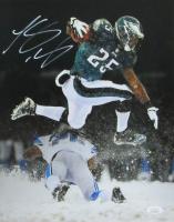 LeSean McCoy Signed Eagles 11x14 Photo (JSA COA) at PristineAuction.com