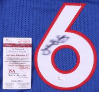 Julius Erving Signed Jersey (JSA COA) (See Description) at PristineAuction.com
