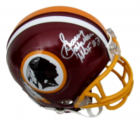 "Sonny Jurgensen Signed Washington Mini Helmet Inscribed ""HOF 83"" (JSA COA) at PristineAuction.com"
