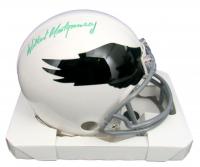Wilbert Montgomery Signed Eagles Throwback Mini-Helmet (JSA COA) at PristineAuction.com
