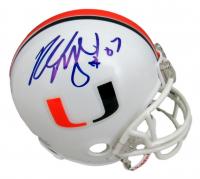 Russell Maryland Signed Miami Hurricanes Mini-Helmet (JSA COA) at PristineAuction.com