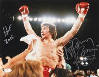 "Ray ""Boom Boom"" Mancini Signed 11x14 Photo Inscribed ""HOF 2015"" (JSA Hologram) at PristineAuction.com"