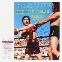 "Ray ""Boom Boom"" Mancini Signed 11x14 Photo Inscribed ""HOF 2015"" (JSA COA) at PristineAuction.com"