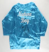 "Ric Flair Signed ""Nature Boy"" Wrestling Robe Inscribed ""Nature Boy"", ""16x"" & ""Wooooo"" (PSA COA) at PristineAuction.com"