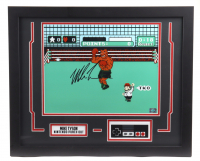 """Mike Tyson Signed """"Punch-Out!!!"""" 18x22 Custom Framed Photo Display with Nintendo Controller (Fiterman Sports Hologram) at PristineAuction.com"""
