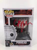 "Clive Barker  Signed ""Hellraiser III: Hell On Earth"" #134 Pinhead Funko Pop! Vinyl Figure (JSA COA) at PristineAuction.com"