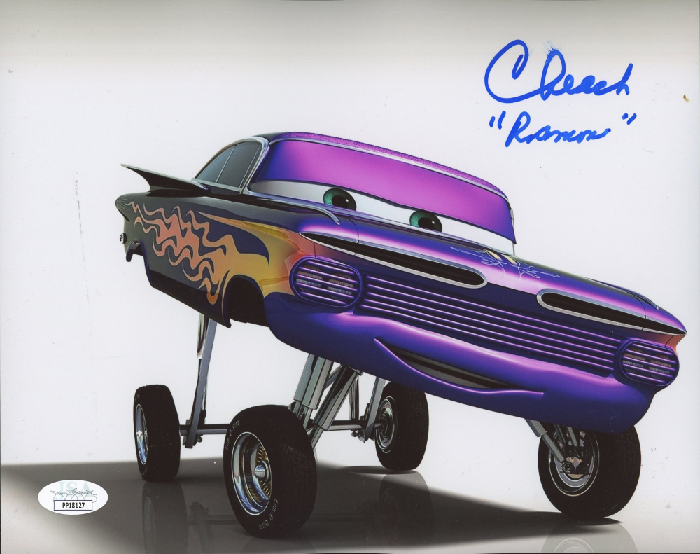 """Cheech Marin Signed """"Cars"""" 8x10 Photo Inscribed """"Ramon"""" (JSA Hologram) at PristineAuction.com"""