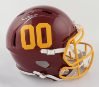 Chase Young Signed Washington Football Team Full-Size Speed Helmet (Fanatics Hologram) at PristineAuction.com