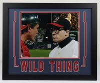 "Charlie Sheen Signed ""Major League"" 18x22 Custom Framed Photo Display (JSA COA & Fiterman Hologram) at PristineAuction.com"