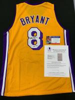 Kobe Bryant Signed Jersey (Beckett LOA & PSA COA) at PristineAuction.com