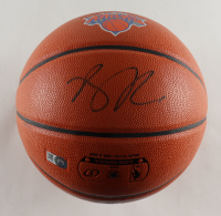 Derrick Rose Signed Knicks Logo Basketball (Beckett COA) (See Description) at PristineAuction.com