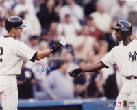 Derek Jeter & Alfonso Soriano Signed Yankees 16x20 Photo (Steiner Hologram) at PristineAuction.com