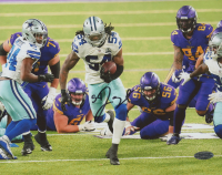 Jaylon Smith Signed Cowboys 8x10 Photo (Playball Ink Hologram) at PristineAuction.com
