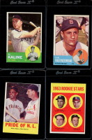 1963 TOPPS BASEBALL COMPLETE SET BREAK Mystery BOX– 7 CARDS PER BOX at PristineAuction.com